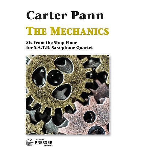 Carl Fischer The Mechanics - Saxophone Quartet-thumbnail