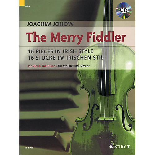 Schott The Merry Fiddler (16 Pieces in Irish Style) String Series Softcover with CD-thumbnail