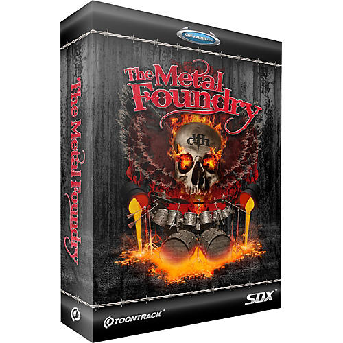 Toontrack The Metal Foundry SDX Download-thumbnail