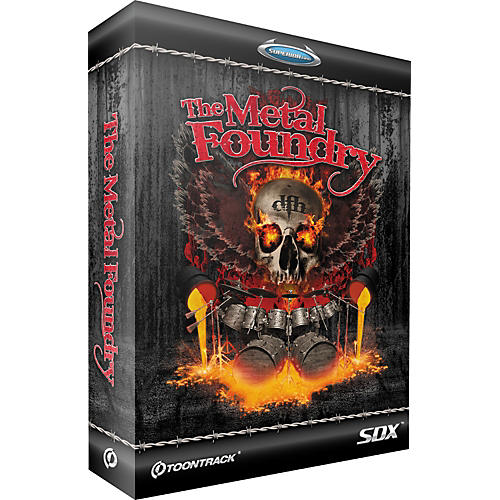 Toontrack The Metal Foundry SDX Expansion Pack