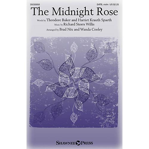 Shawnee Press The Midnight Rose SATB W/ VIOLIN arranged by Brad Nix-thumbnail