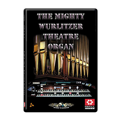 AudioWarrior The Mighty Wurlitzer Theatre Organ Reason Refill-thumbnail
