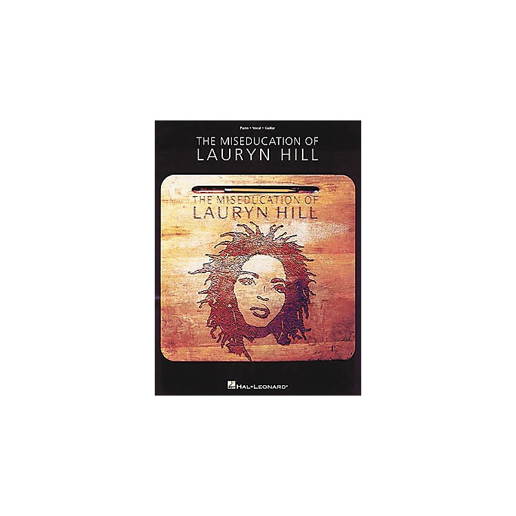 Hal Leonard The Miseducation of Lauryn Hill Piano, Vocal, Guitar Songbook