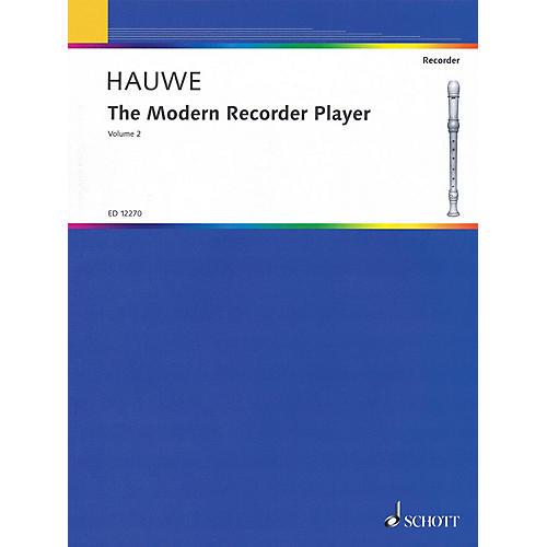 Schott The Modern Recorder Player for Treble Recorder (Volume 2) Schott Series by Walter van Hauwe-thumbnail