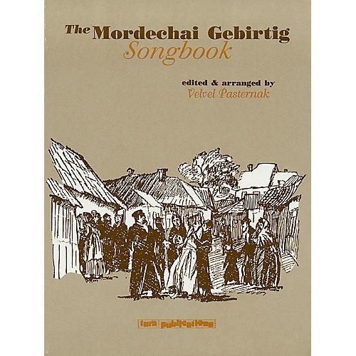 Tara Publications The Mordechai Gebirtig Songbook Tara Books Series Performed by Mordechai Gebirtig-thumbnail