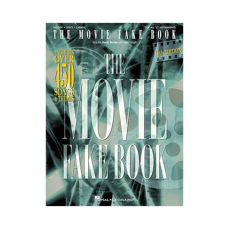 Hal LeonardThe Movie Fake Book 4th Edition