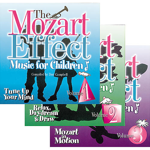 Children's Book Store The Mozart Effect Music for Children (3-CD Box Set)