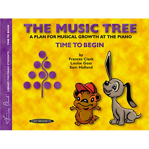 Alfred The Music Tree Student's Book Time to Begin-thumbnail