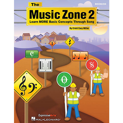 Hal Leonard The Music Zone 2 (Learn MORE Basic Concepts Through Song) Book and CD pak Composed by Cristi Cary Miller-thumbnail