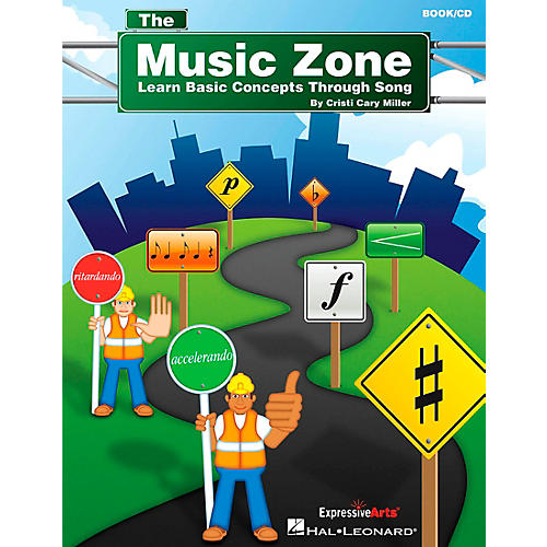 Hal Leonard The Music Zone (Learn Basic Concepts Through Song) Book and CD pak Composed by Cristi Cary Miller-thumbnail