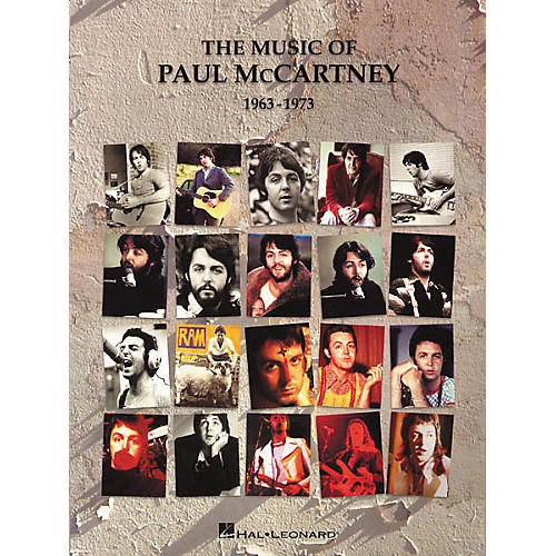 Hal Leonard The Music of Paul McCartney 1963-1973 Songbook-thumbnail
