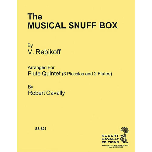 Hal Leonard The Musical Snuff Box Robert Cavally Editions Series Softcover Arranged by Robert Cavally