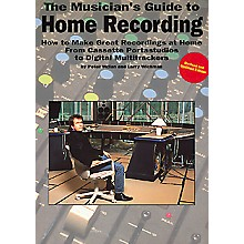 Music Sales The Musician's Guide to Home Recording Book