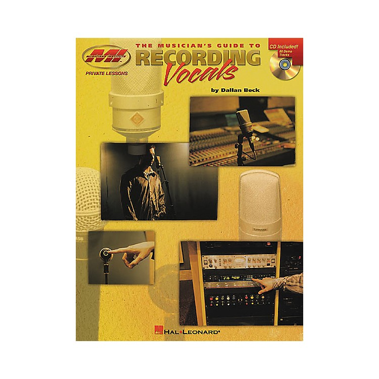 Musicians InstituteThe Musician's Guide to Recording Vocals (Book/CD)