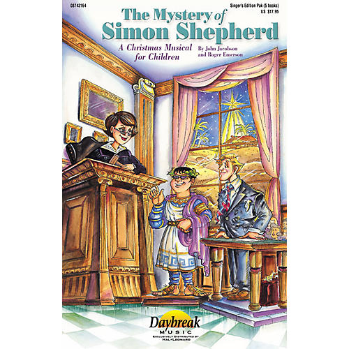 Daybreak Music The Mystery of Simon Shepherd (CD 10-Pak) CD 10-PAK Composed by Roger Emerson-thumbnail