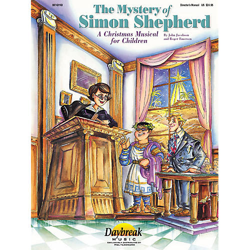 Daybreak Music The Mystery of Simon Shepherd (ChoirTrax CD) CHOIRTRAX CD Composed by Roger Emerson-thumbnail