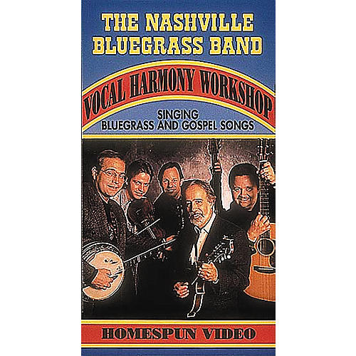 Hal Leonard The Nashville Bluegrass Band - Vocal Harmony Video