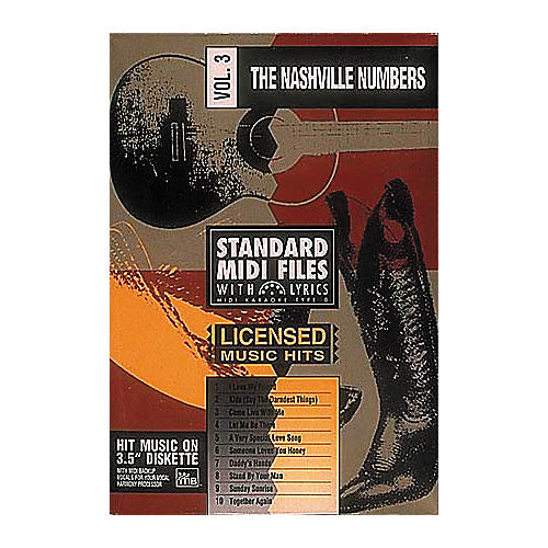 Hal Leonard The Nashville Numbers Volume 1 - Tune 1000 Series (3-1/2