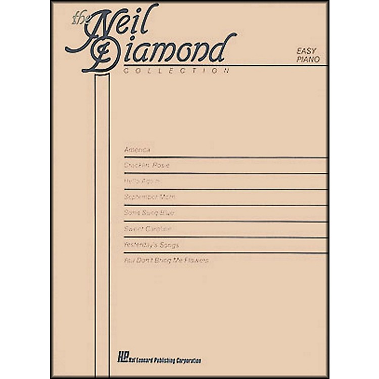 Hal Leonard The Neil Diamond Collection arranged for piano, vocal, and guitar (P/V/G)