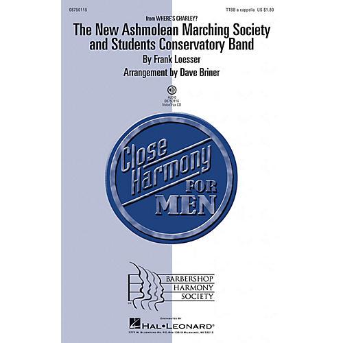 Barbershop Harmony Society The New Ashmolean Marching Society and Students Conservatory Band TTBB by David Briner-thumbnail
