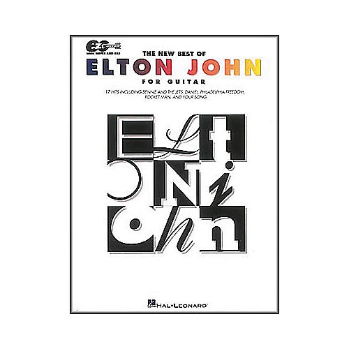 Hal Leonard The New Best of Elton John Guitar Songbook