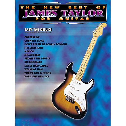 Alfred The New Best of James Taylor for Guitar Tab Book-thumbnail