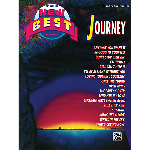 Alfred The New Best of Journey Piano/Vocal/Guitar Book-thumbnail
