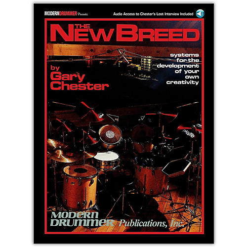 Modern Drummer The New Breed - Systems For The Development of Your Own Creativity Book/CD