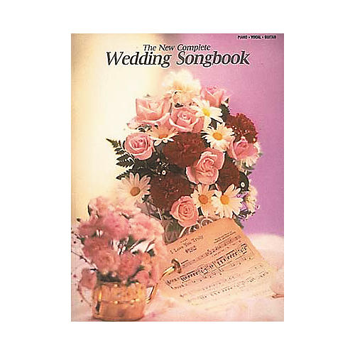 Hal Leonard The New Complete Wedding Piano, Vocal, Guitar Songbook