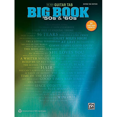 Alfred The New Guitar TAB Big Book  '50s & '60s-thumbnail