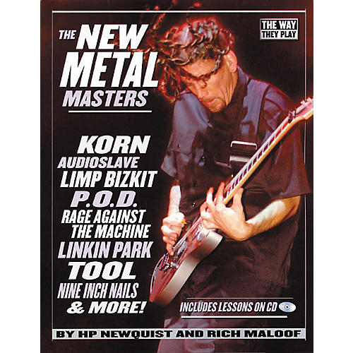 Backbeat Books The New Metal Masters (Book/CD)