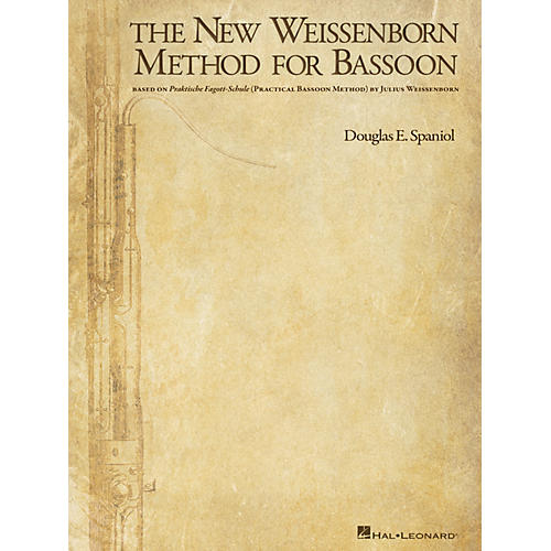 Hal Leonard The New Weissenborn Method for Bassoon Instructional Series Softcover Written by Douglas Spaniol-thumbnail