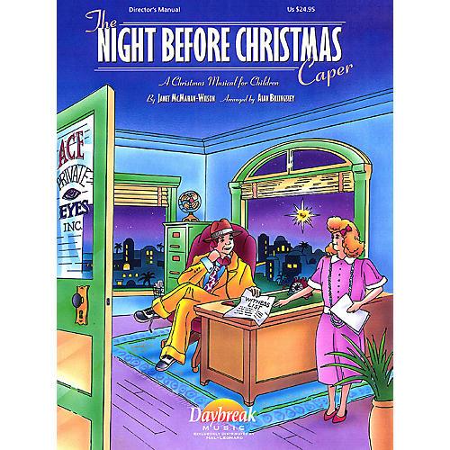 Daybreak Music The Night Before Christmas Caper PREV CD Arranged by Alan Billingsley-thumbnail