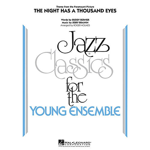 Hal Leonard The Night Has a Thousand Eyes Jazz Band Level 3 Arranged by Roger Holmes