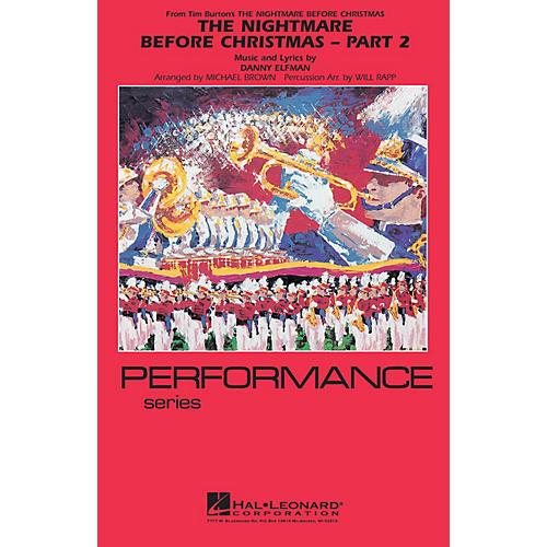 Hal Leonard The Nightmare Before Christmas - Part 2 Marching Band Level 4 Arranged by Will Rapp-thumbnail