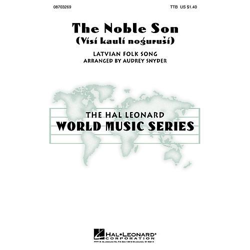 Hal Leonard The Noble Son (Visi kauli nogurusi) TTB arranged by Audrey Snyder-thumbnail