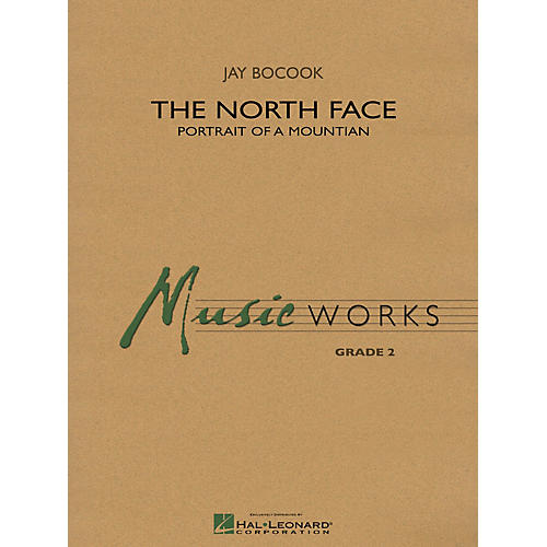 Hal Leonard The North Face Concert Band Level 3 Composed by Jay Bocook