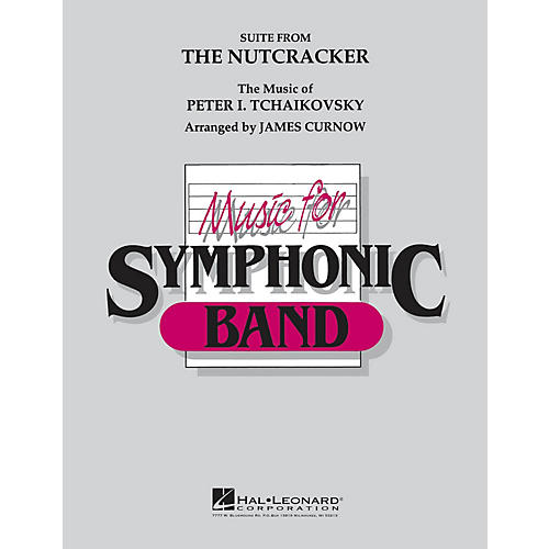 Hal Leonard The Nutcracker Concert Band Level 4-5 Arranged by James Curnow-thumbnail