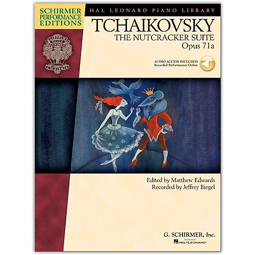 G. Schirmer The Nutcracker Suite Opus 71 - Schirmer Performance Edition Book/CD By Tchaikovsky / Esipoff