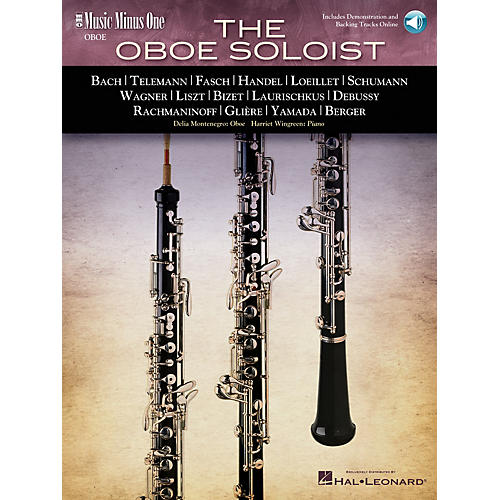 Music Minus One The Oboe Soloist (2-CD Set) Music Minus One Series BK/CD by Various-thumbnail