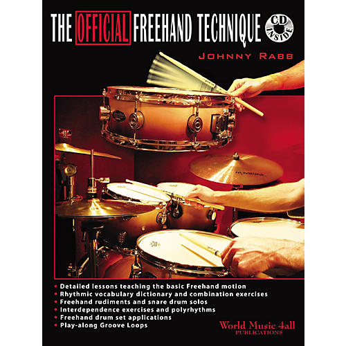 Hudson Music The Official Freehand Technique by Johnny Rabb Book and CD-thumbnail