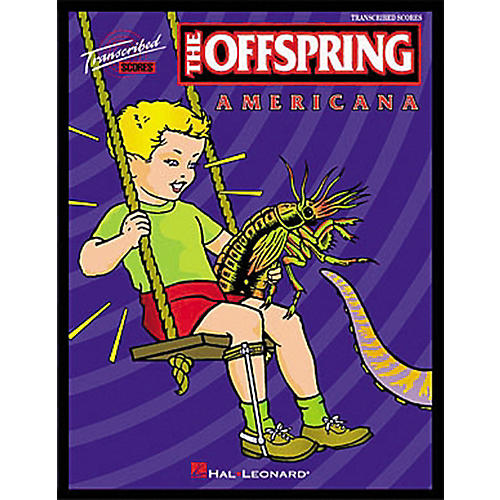 Hal Leonard The Offspring Americana Trancribed Score Book