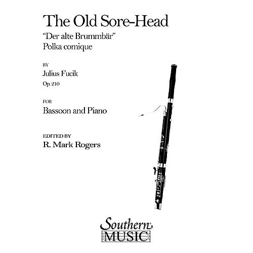 Southern The Old Sore-Head (Der Alte Brummbar) (Bassoon) Southern Music Series Arranged by R. Mark Rogers-thumbnail