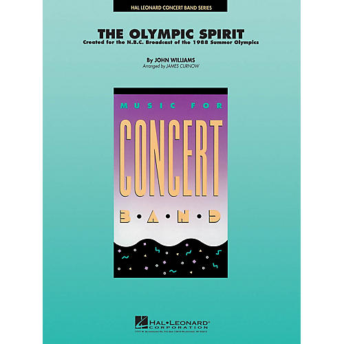 Hal Leonard The Olympic Spirit Concert Band Level 4 Arranged by James Curnow-thumbnail