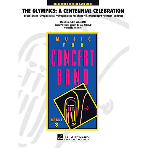 Hal Leonard The Olympics: A Centennial Celebration - Young Concert Band Series Level 3 arranged by