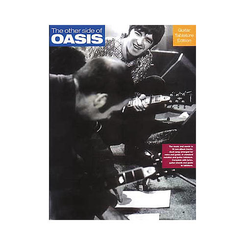 Hal Leonard The Other Side of Oasis Guitar Tab Book