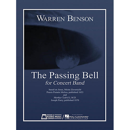 Edward B. Marks Music Company The Passing Bell Concert Band Level 5 Composed by Warren Benson-thumbnail