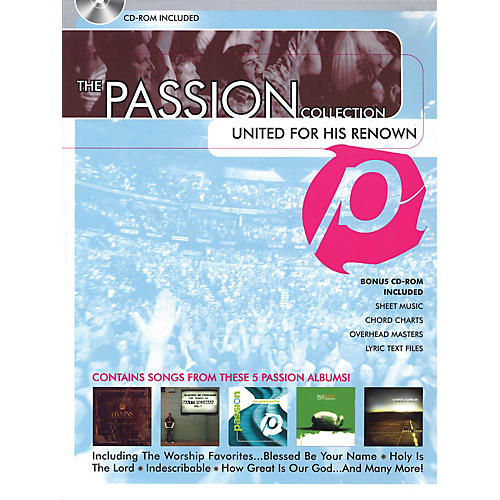 Hal Leonard The Passion Collection - United for His Renown Sacred Folio Series Softcover with disk by Passion
