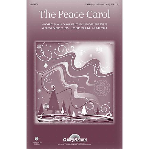 Shawnee Press The Peace Carol SATB by John Denver arranged by Joseph M. Martin-thumbnail