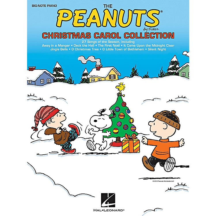 Hal Leonard The Peanuts Christmas Carol Collection For Big-Note Piano